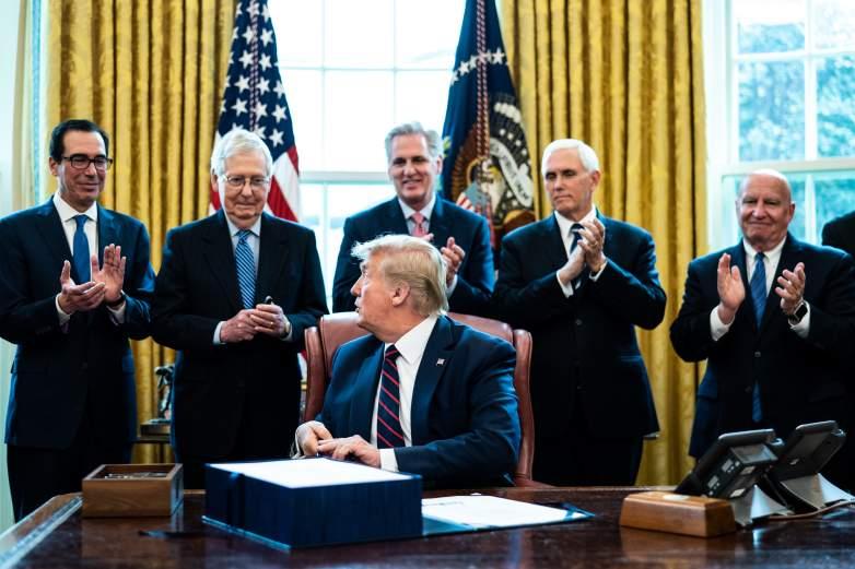 Stimulus Bill Signing