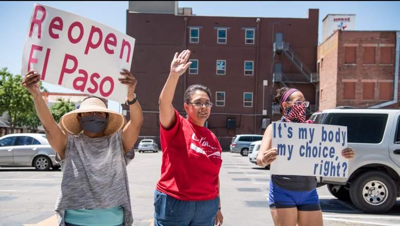 Texas, Ohio Reopen