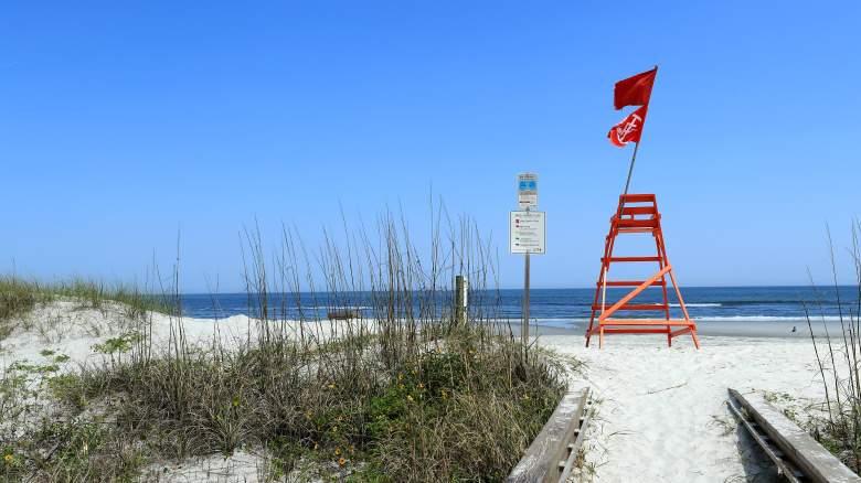 Jacksonville Beach Closed