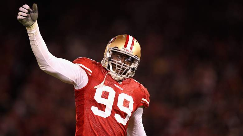 Aldon Smith with 49ers