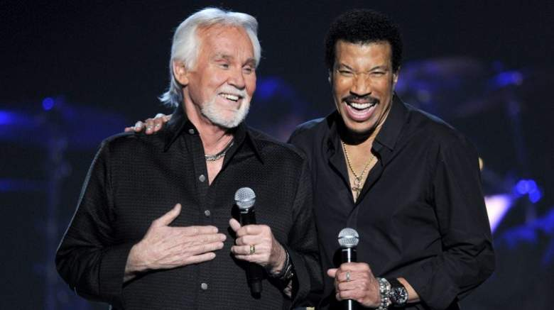 Lionel Richie and Kenny Rogers