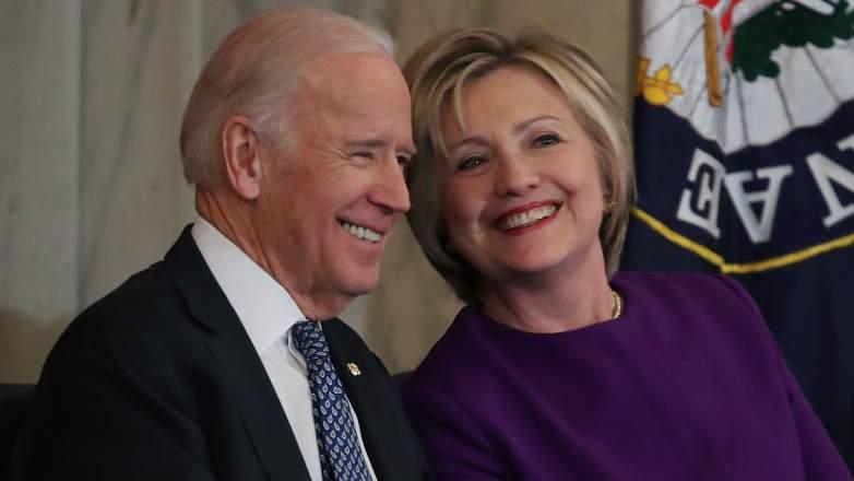 Biden and Clinton