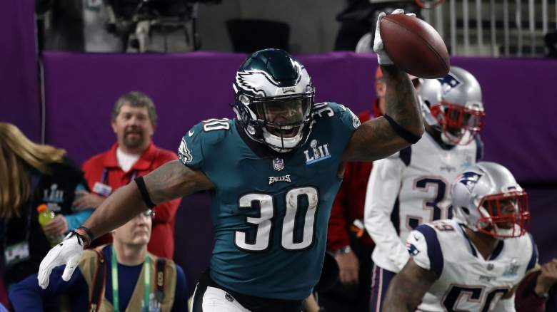 Corey Clement Chicago Bears