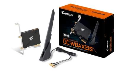 gigabyte ax210 wifi 6 adapter