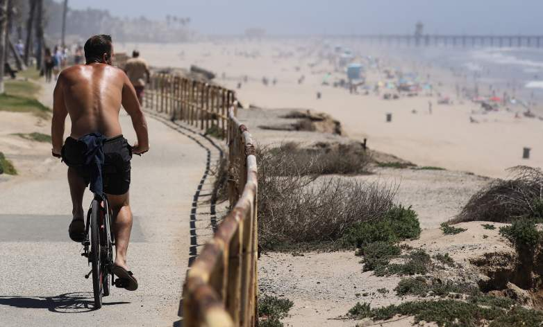 Huntington Beach amid coronavirus
