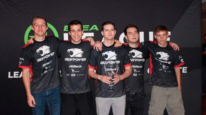 iBUYPOWER Counter-Strike team at ESEA event