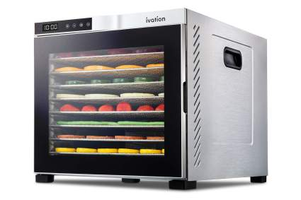 Ivation 10 Tray Commercial Food Dehydrator Machine