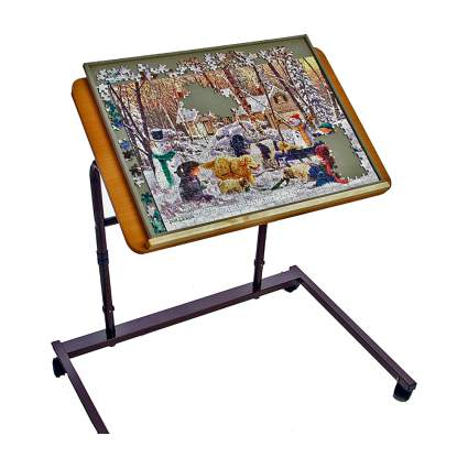 jigsaw puzzle table