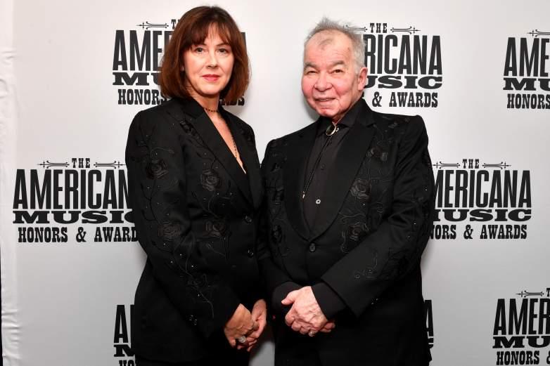 John Prine and wife Fiona