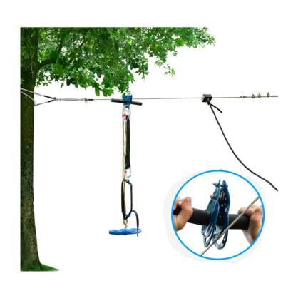 118 foot zipline kit