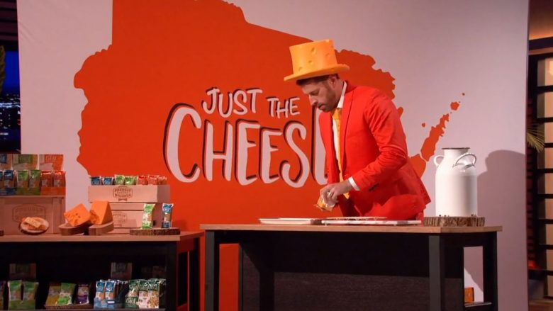 Just the Cheese on Shark Tank