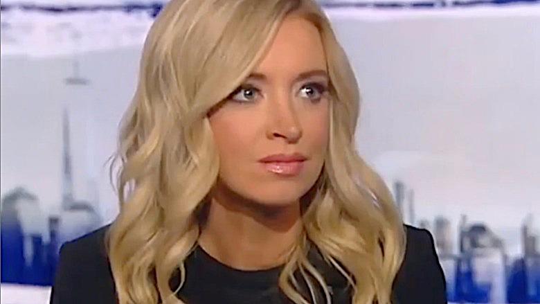 Kayleigh McEnany white house press secr