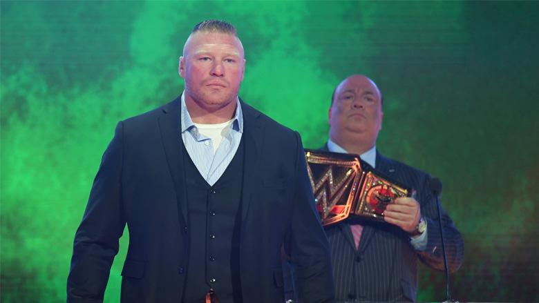 WWE Champion Brock Lesnar