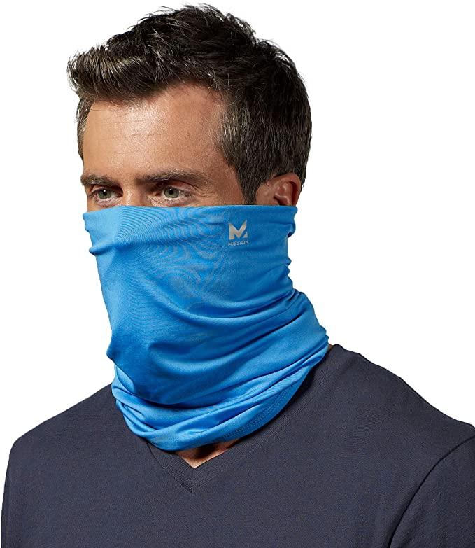 UV Face Mask Protect Bandanas Mask Casoty Outdoor Face Mask Face Scarf for Women Face Bandanas for Women White Neck Gaiter with Ear Loops