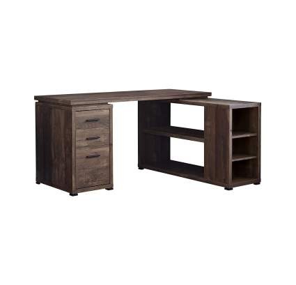 Monarch Specialties L-Shaped Corner Desk