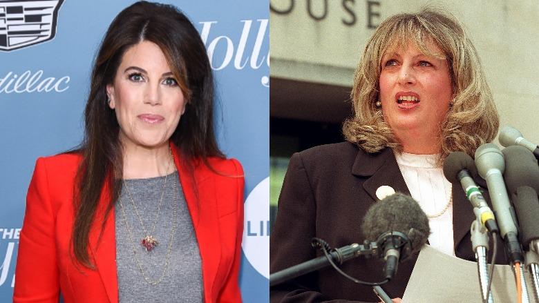 Monica Lewinsky and Linda Tripp