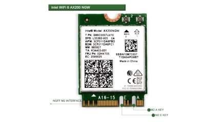 netely wifi 6 m.2 card