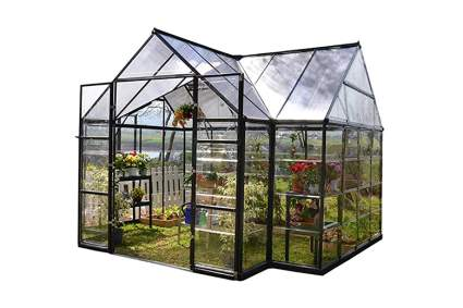 four sided chalet greenhouse