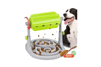 Pawzone Dog Puzzle Food Dispenser