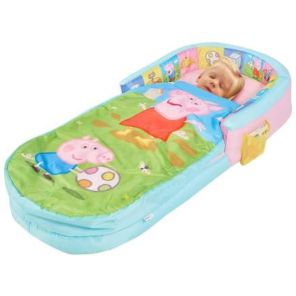 Peppa Pig All In One Sleepover Bed