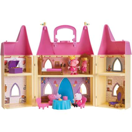 Peppa Pig Princess Castle Deluxe Playset