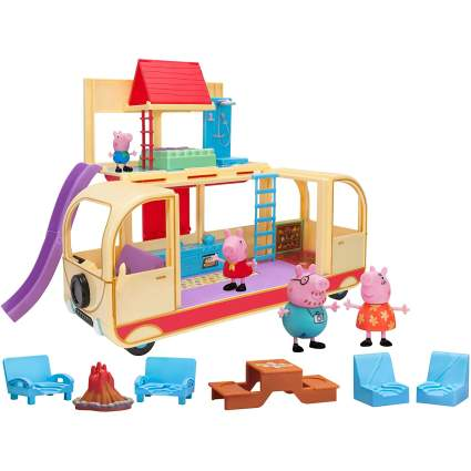 Peppa Pig Transforming Campervan Feature Playset
