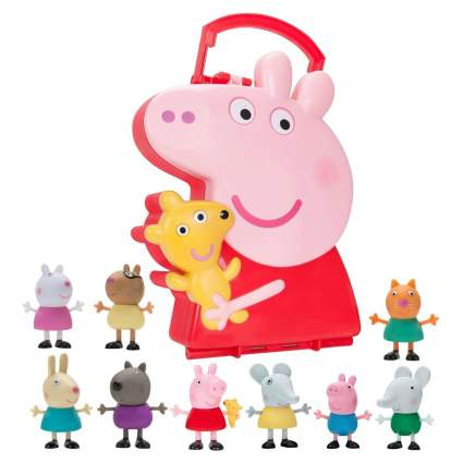 Peppa Pigs Carry Along Friends
