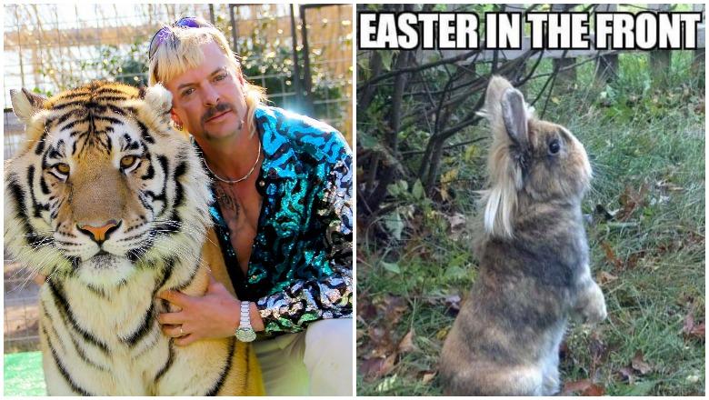 Tiger King Easter memes