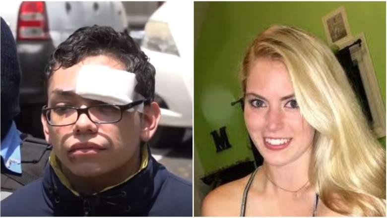 Orlando Tercero and Haley Anderson