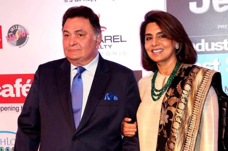 Rishi Kapoor and wife Neetu Kapoor