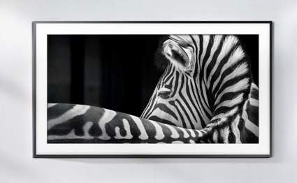 Samsung Hidden TV with Customizable Frame
