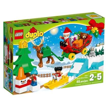 Santa's Winter Holiday Set