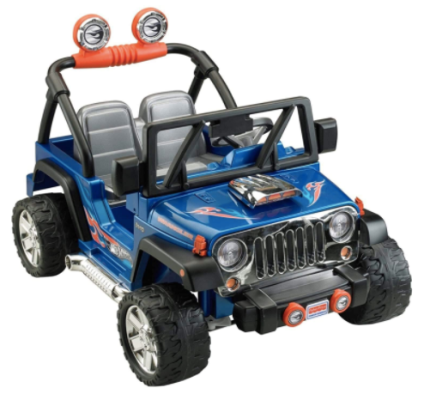 Roll over image to zoom in Power Wheels Hot Wheels Jeep Wrangler