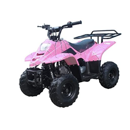 FamilyGoKarts Boulder 400XR Kids ATV in Pink Spider