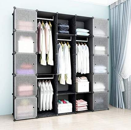 SimpDIY Plastic Closet Organizer
