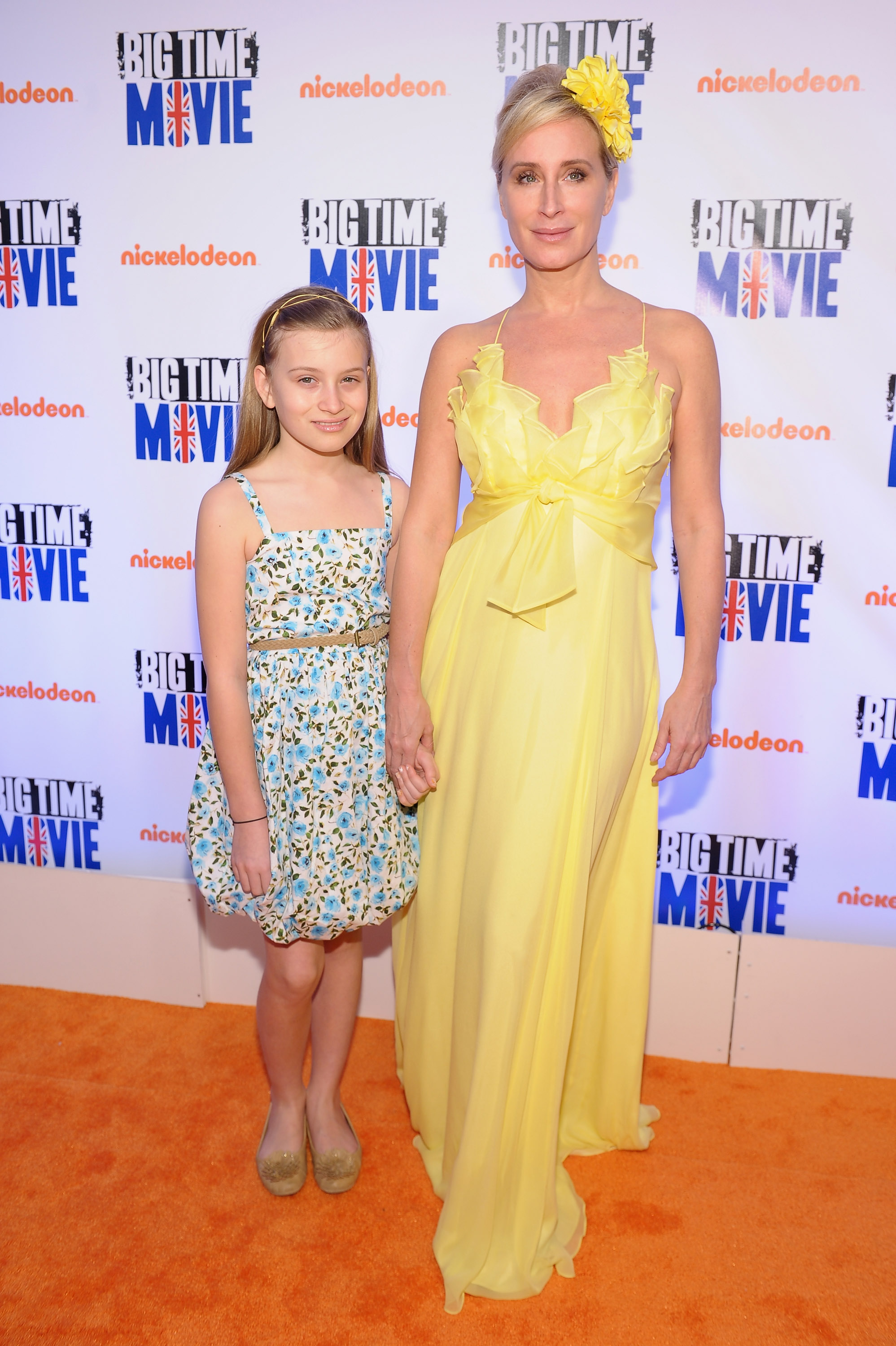 Sonja Morgan and daughter Quincy