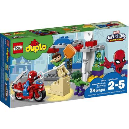 Spider-Man & Hulk Adventures Set