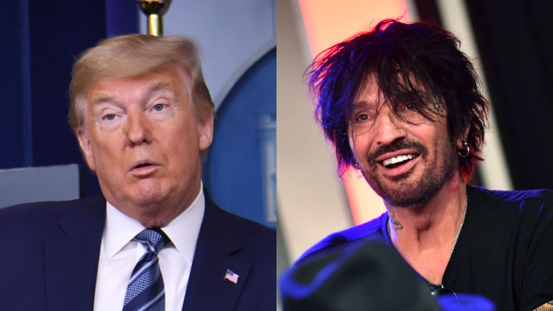 Tommy Lee letter to Trump