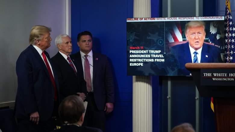 Trump video white house press briefing