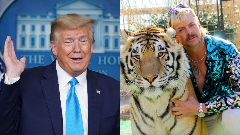 Trump pardon Joe Exotic