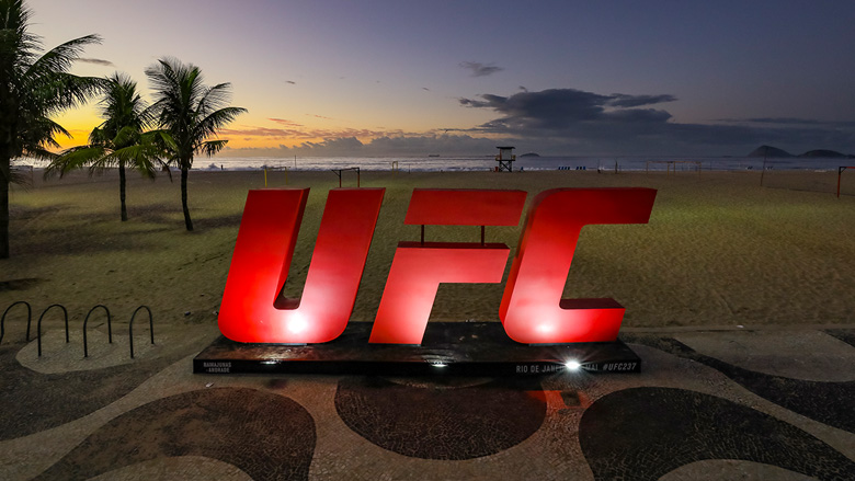 UFC Logo in Rio de Janeiro