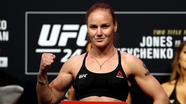 Valentina Shevchenko UFC 247 weigh-in