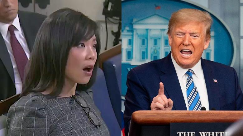 Weijia Jiang and Trump