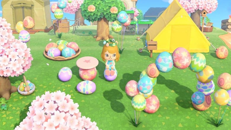 where to find bunny day eggs animal crossing new horizons
