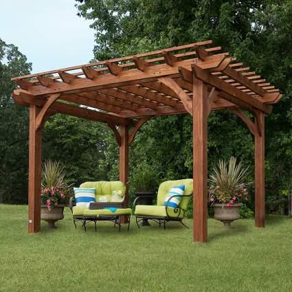 Backyard Discovery Cedar Pergola 12' by 10'