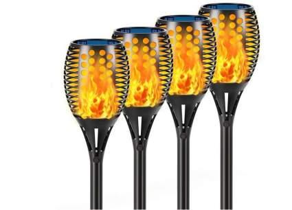 "Aityvert 43"" Waterproof Solar Torch Lights"