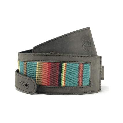 Anthology Gear El Camino Leather & Fabric Guitar Strap