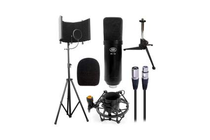 AxcessAbles SF-101KIT Studio Microphone Isolation Shield Bundle