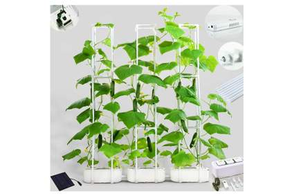 hydroponic growing towers