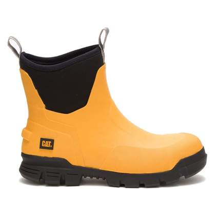 steel toe rubber boot